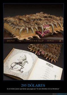¿Os acordáis de El Libro Monstruo de los Monstruos? ¡Es ''real''! - Es el módico precio que tienes que pagar por ''El Libro Monstruo de los Monstruos''