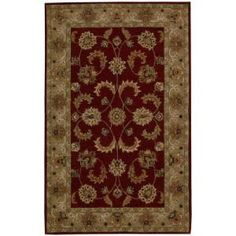 Nourison India House Red 8 ft. x 10 ft. 6 in. Area Rug  on  Daily Rug Deals