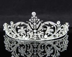 tiaras and crowns | this unique bridal tiara and other essential accessories made you