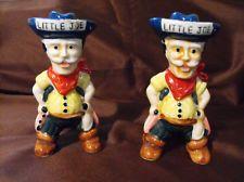 Little Joe Vintage Salt & Pepper Shakers