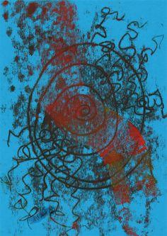 """12"" - Monotipo Painting, Art, Printmaking, Art Background, Painting Art, Kunst, Paintings, Performing Arts, Painted Canvas"