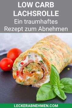 Low Carb Lachsrolle ohne Spinat - Traumhaftes Rezept zum Abnehmen - This low carb salmon roll is made fast and a healthy dinner for losing weight. Vegetarian Recipes Dinner, Healthy Breakfast Recipes, Easy Healthy Recipes, Quick Easy Meals, Healthy Dinner Recipes, Healthy Snacks, Summer Recipes, Food And Drink, Salmon Roll