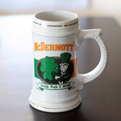 Irish Pub & Grub Stein - Groomsmen Gifts $36