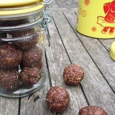 Perfect Peanut Butter Pick-Me-Up Yum Balls