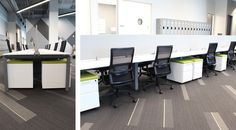 PatientPoint's new open design and collaborative work spaces have changed the feeling of working for the growing technology company for the better. Work Stations, Space, Table, Furniture, Design, Home Decor, Floor Space, Decoration Home, Room Decor