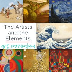 The Artists and the Elements- An Elementary Art Curriculum – The Kitchen Table Classroom Homemade Clay, Diy Clay, Clay Crafts, Art For Kids, Crafts For Kids, Kids Watercolor, Art Curriculum, Art Lessons Elementary, Leaf Art