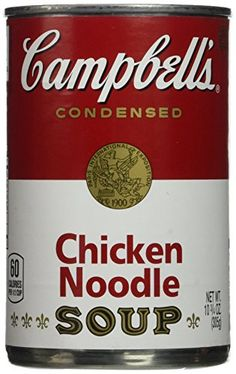 Campbell's Chicken Noodle Soup - 12/10.75 oz. ** Additional details at the pin image, click it @ : Easy Dinner Meals