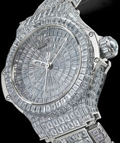 Image detail for -. Lady watch Hublot Bling Evolution: Diamonds On A Big Bang Watch Elegant Watches, Beautiful Watches, Beautiful Ladies, High Jewelry, Luxury Jewelry, Jewelry Bracelets, Jewellery, Hublot Geneve, Hublot Watches