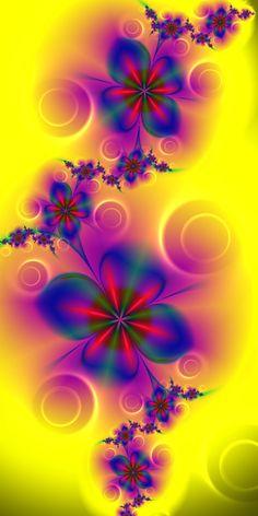 Fractal Flowers...