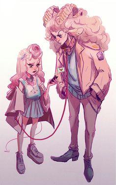 New Pop Art Drawings People Ideas Simple Illustration, Pop Art Drawing, Cool Drawings, Pretty Art, Cute Art, Fantasy Kunst, Fantasy Art, Anime Kunst, Anime Art