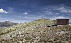 Norwegian Wild Reindeer Centre Pavilion (Dovre Mountains in Norway, 2011 by Snøhetta)