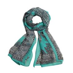 JECKSION Women Fashion Lady Long Soft Chiffon Scarf Wrap Shawl