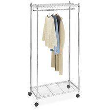QuikCloset Wall Mounted Garment Rack | Garment Racks, Portable Closet And  Clothing Storage