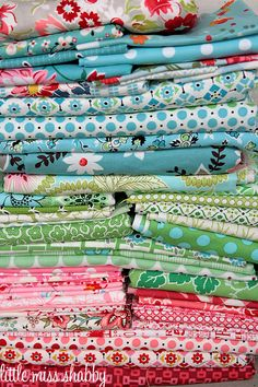 love this palette. (I think I have bunch of those.)  #stash  #fabric