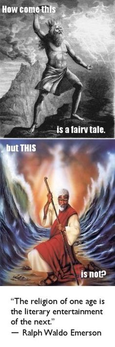Eventually all religions seem to get downgraded into fairytale status.  Anyone still worshipping Zeus and Ra and the million other deities that we have decided over time are not real?