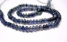 Regenbogen Mondstein  5 mm quadratische Scheiben Edelstein Strang Perlen