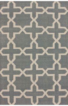 Rugs USA Tuscan Trellis Flatwoven Grey Rug