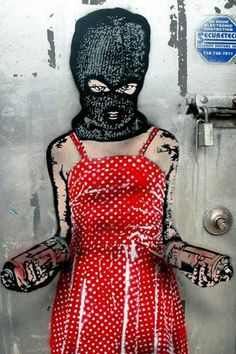 Nick Walker street art in NYC Urban Street Art, Urban Art, Yarn Bombing, Banksy, Arte Punk, Nick Walker, Nyc Girl, Graffiti Artwork, Street Art Graffiti