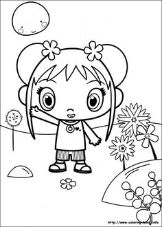 Ni Hao Kai-Lan coloring picture | Coloring Pages | Pinterest ...