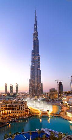 Burj Khalifa, Dubai At feet, the world's tallest building has commanded the Dubai skyline since January It contains residences, offices, and the Armani Hotel. Dubai Hotel, Dubai Mall, Hotel Armani, Shopping Dubai, Dubai City, Places Around The World, The Places Youll Go, Places To See, Around The Worlds