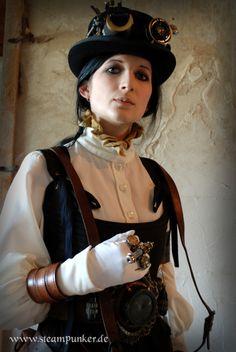 steampunk steampunker outfit by ~steamworker