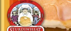 Sturdiwheat Foods, Inc., Red Wing, Minnesota: All-Natural Pancake Mix, Bread Mix, Dessert Mixes. Just add water!