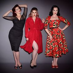 Deadly Is The Female (@deadlyfemale) • Instagram photos and videos 1950s Fashion, Vintage Fashion, Deadly Females, Trashy Diva, Pinup Couture, Vintage Branding, Wiggle Dress, Swing Dress, New Dress