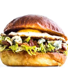 This is what happens when a French salad collides with an iconic bacon-egg-and-cheese.