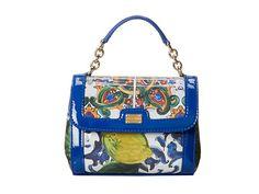 Dolce & Gabbana Graphic Print Shoulder Bag #Italianstyle