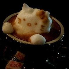 Hello Kitty  The Incredible 3D Latte Art By Kazuki Yamamoto Will Amaze You All • Page 5 of 6 • BoredBug