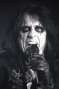 Alice Cooper. I celebrated my birthday with Alice Cooper and Iron Maiden at Bayfest summer of 2012. Good times!