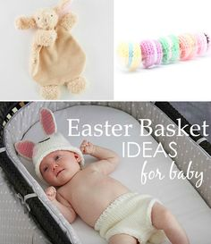 Non-Candy Easter Basket Ideas for Baby