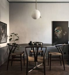 Dark and moody home - via cocolapinedesign.com