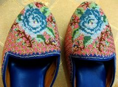 Peranakan handcrafted shoes- Singapore