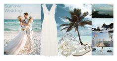 Summer Wedding by igiulia on Polyvore featuring Temperley London, Aquazzura, Blue Nile, Lucky Brand and summerwedding