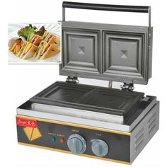 1PC 110V or 220V High quality FY-113A Sandwich Toaster; Sandwich machine;Electrical Breakfast sandwich Toaster machine #Affiliate