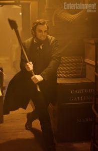 Abraham Lincoln: Vampire Hunter.  Great book, hopefully a great movie