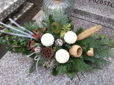 Funeral Flowers, Ikebana, Decoupage, Christmas Wreaths, November, Holiday Decor, Wedding, Home Decor, Christmas Crafts
