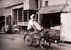 katharine hepburn bicycle -