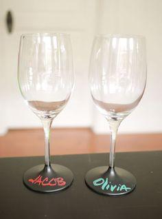 Spersonalizowane kieliszki do wina – zrób to sam | Archemon – Architektura, Design, Inspiracje