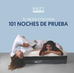 Duerme en un Nezt y despierta contento cada mañana I Da el soporte y la suavidad ideal a tu espalda y cuerpo. Disfruta de los materiales premium: Memory Foam y Viscolastic - 10 Años de garantía. Conoce todos los productos premium de Nezt y Duerme en las Nubes #Ropadecama #sabanas #algodón #suavidad #frescura #soporte #comodidad #colchon #cama #nezt #neztsleep #neztdescanso #descanso #cdmx