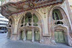 Casa Comalat. Barcelona.