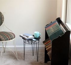 vinyl coffe table