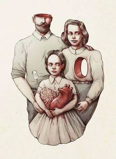 """eljonnymunoz:  """"The brain of my father, the heart of my mother."""""""