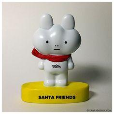 Line Friends -> Santa Friends / #Line #Character #LineFriends #Santa #Friend