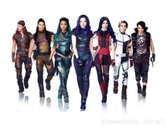 Descendants 3 Exclusive: Go Behind the Scenes of the Big Finale - - Exclusive! See Dove Cameron, Cameron Boyce, Sofia Carson and more at work on the big number. The Descendants, Descendants Pictures, Dove Cameron Descendants, Descendants Characters, Disney Channel Descendants, Descendants Costumes, Descendants Videos, Disney Channel Stars, Cheyenne Jackson