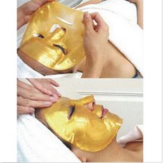 5X Crystal Gold Collagen Facial Face Mask