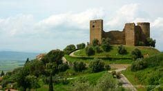 Scarlino castle Maremma Tuscany