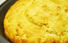 Pane di mais (corn bread) - Un pane molto diverso dal solito, a base di farina di mais (ma anche un po' di farina di grano), ma sopratutto senza lievito, e quindi adatto nei casi di intolleranza ad esso.