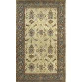Found it at Wayfair - Charisma Parson Ivory/Blue Rug